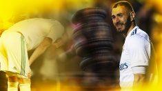Karim Benzema fue pitado por el Bernabéu en su última actuación.