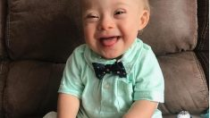 Lucas, el bebé con síndrome de Down que ha sido elegido como imagen de Gerber