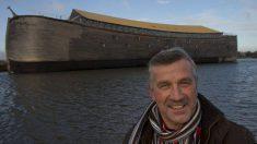 En Dordrecht se puede visitar una réplica del Arca de Noé construida por el carpintero multimillonario holandés Johan Huibers.