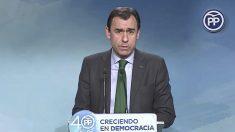 Fernando Martínez-Maillo, coordinador general del PP.
