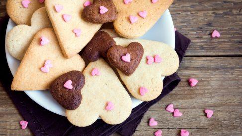 Las mejores recetas de galletas de San Valentín.