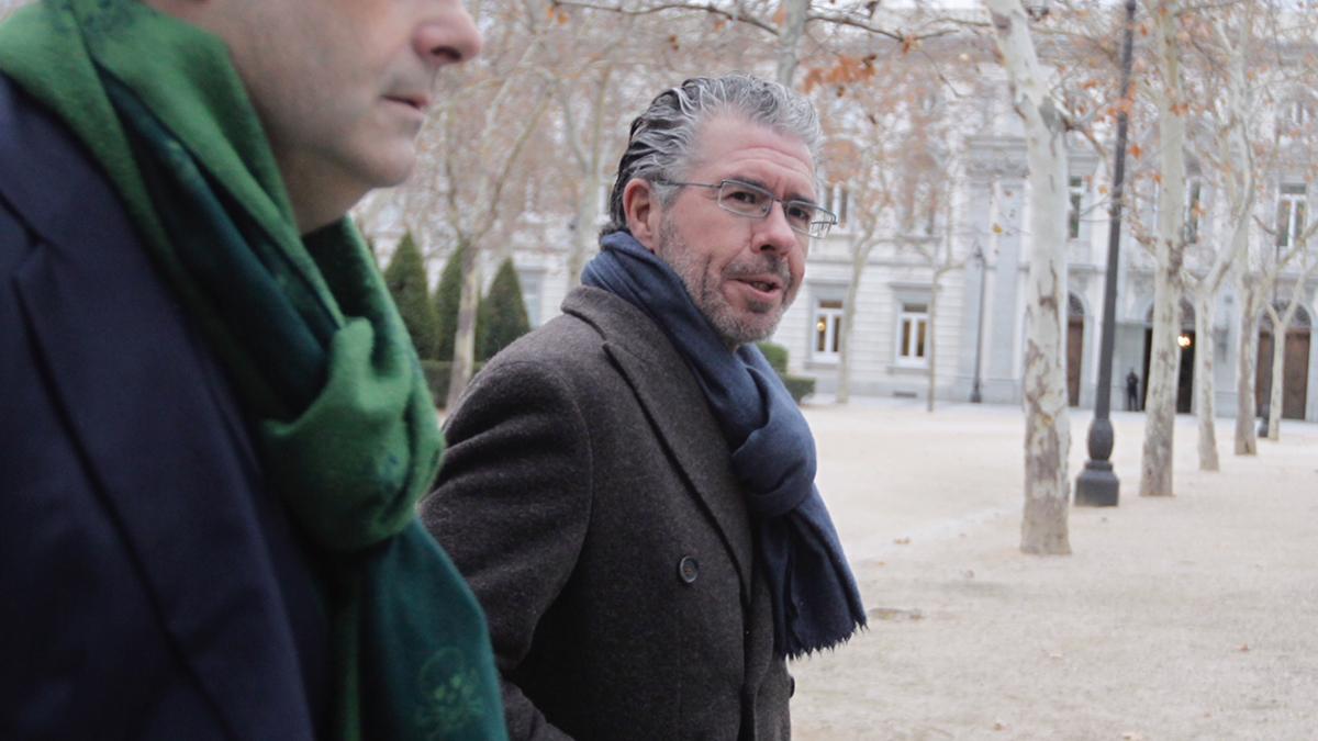Francisco Granados en su llegada a la Audiencia Nacional. FOTO: FRANCISCO TOLEDO