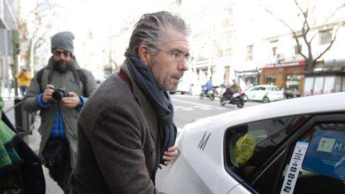 Francisco Granados en su salida de la Audiencia Nacional. FOTO: FRANCISCO TOLEDO