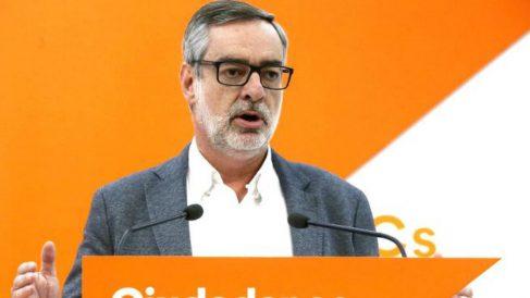 El secretario general de C's, José Manuel Villegas. (EFE)