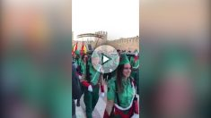 El carnaval de Montblanc (Tarragona) se mofa de la Legión Española y el artículo 155
