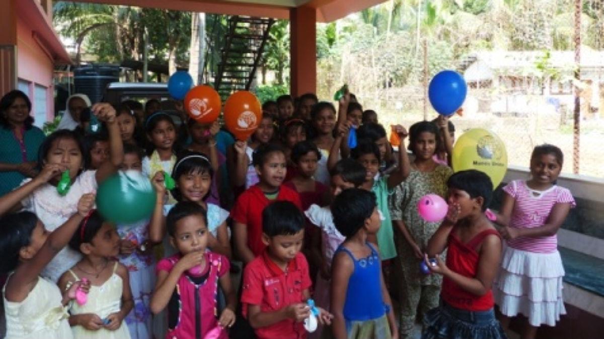 Proyecto de Manos Unidas en Guwahati (India).