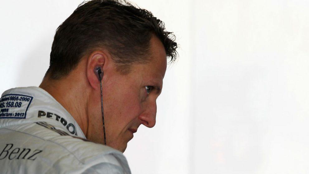 Michael Schumacher. (Getty)