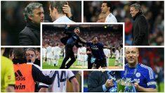 Los futbolistas que siempre han tenido a Mourinho como referencia. (Fotos: AFP y Getty Images)