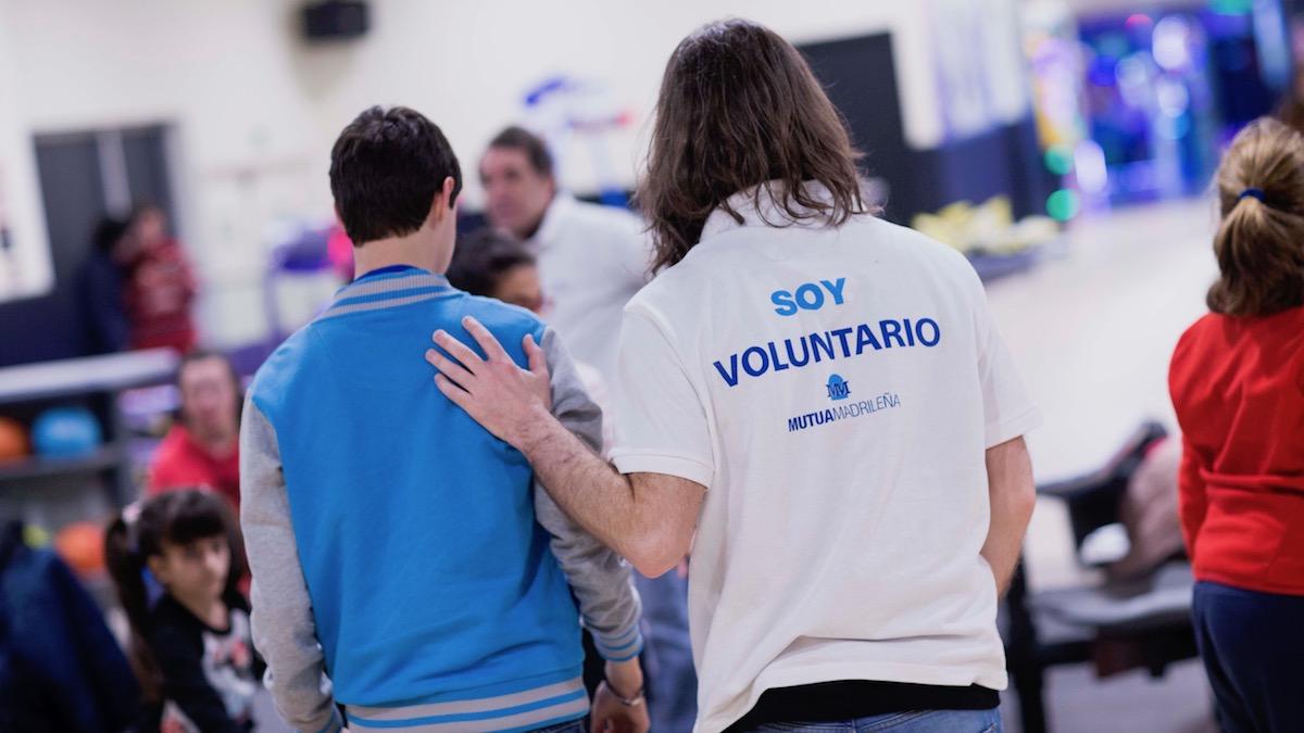 Voluntario de Mutua Madrileña.