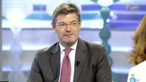 Rafael Catalá en 'El programa de Ana Rosa'.
