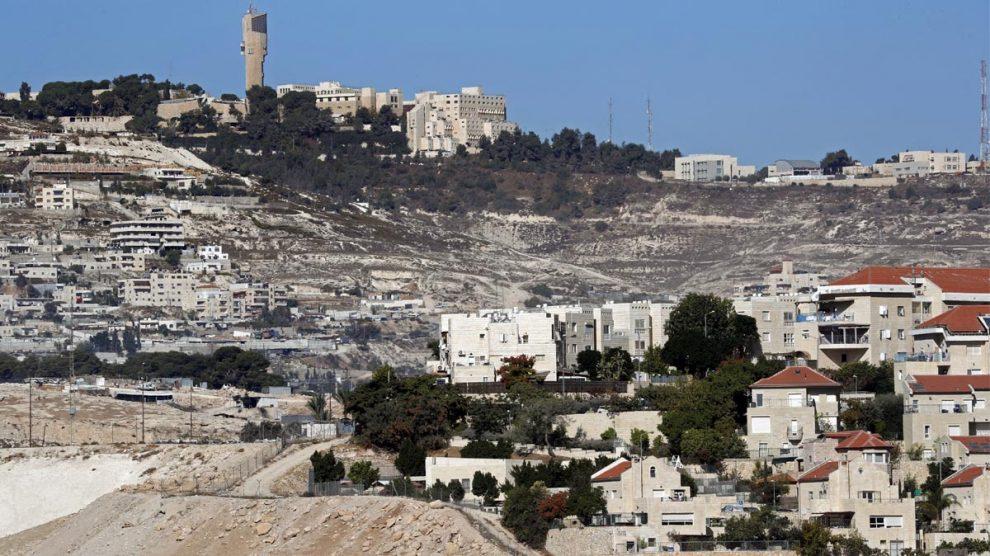 Asentamientos israelíes en Cisjordania (Foto: AFP)