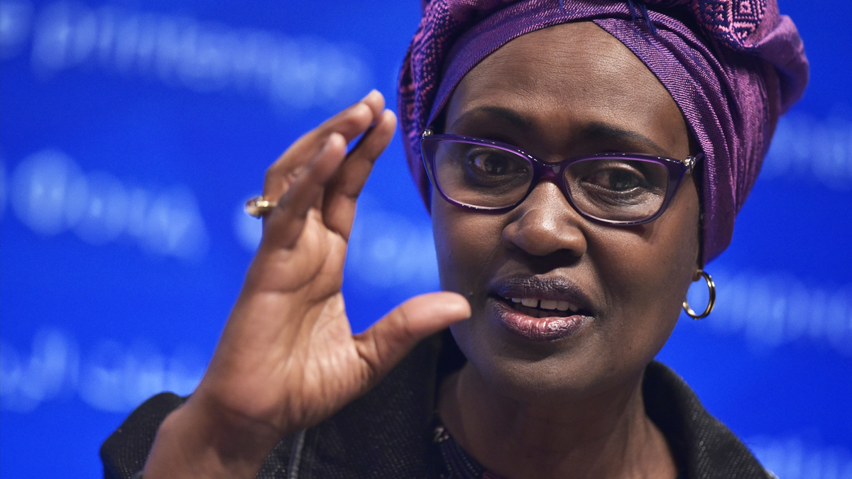 Winnie Byanyima, directora ejecutiva de Oxfam Internacional. (Foto: AFP)