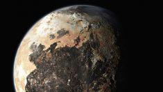 El planeta Plutón.