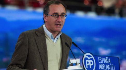 El presidente del PP vasco, Alfonso Alonso. (Foto: EFE)