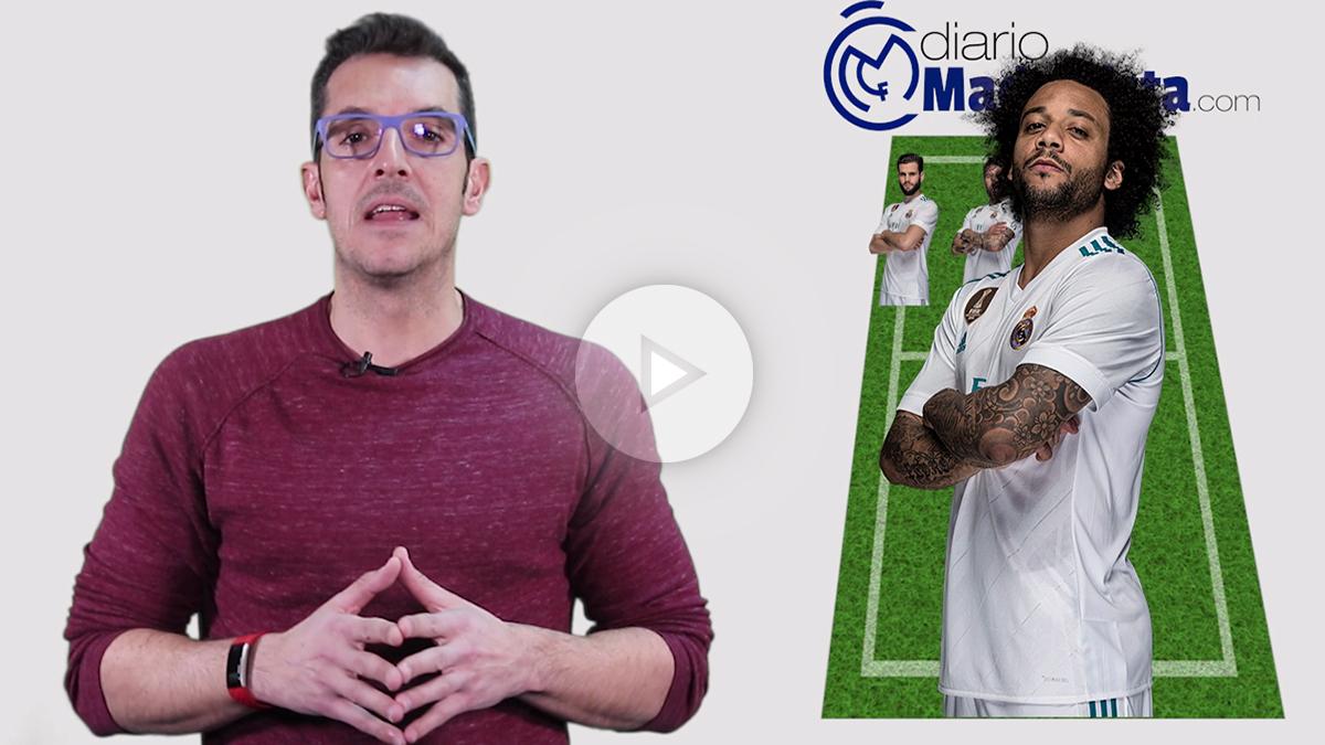 Esta será la alineación del Real Madrid ante el PSG. (vídeo: Juanma Yela)