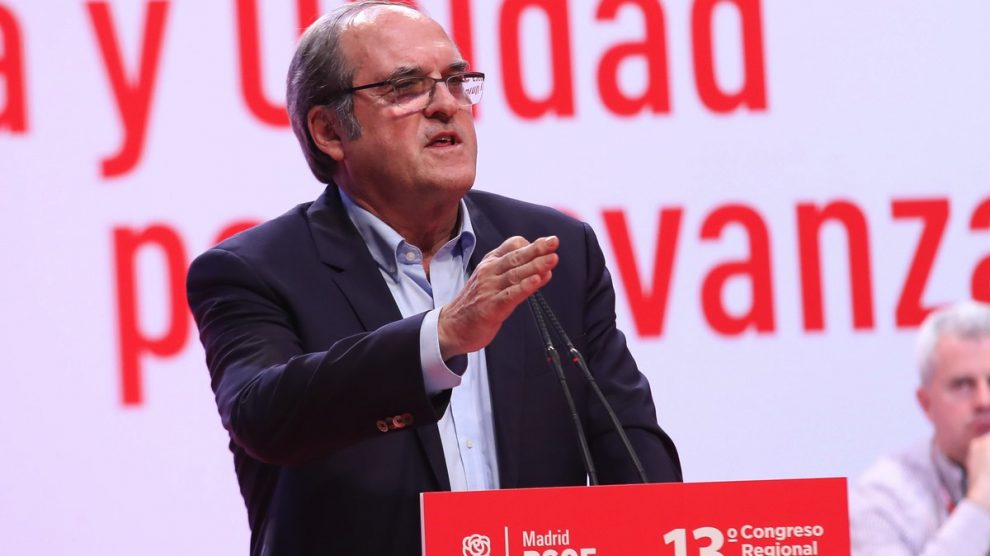 El portavoz del PSOE en la Asamblea de Madrid, Ángel Gabilondo.