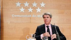 Ángel Garrido, portavoz del Gobierno de la Comunidad de Madrid. (Foto: EFE)