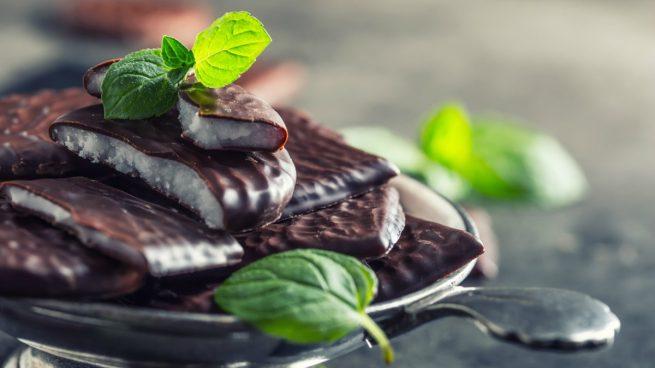 chocolate con menta