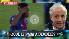 Eduardo Inda dio pistas sobre lo que le pasa a Dembélé.