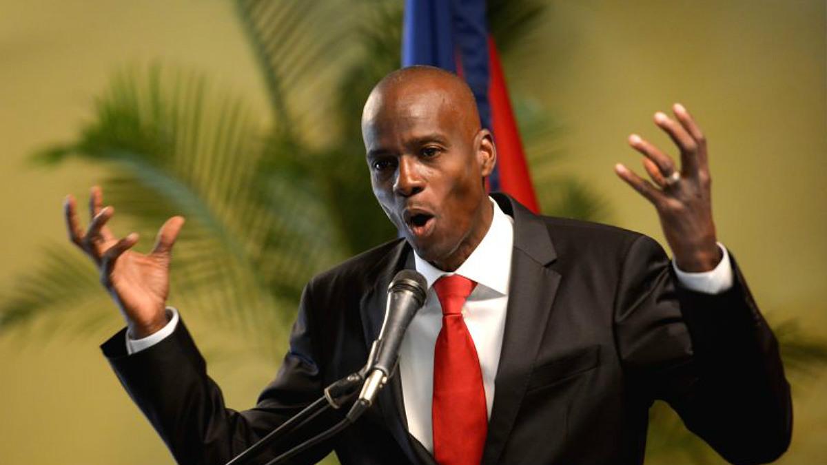 Jovenel Moise, presidente de Haití.