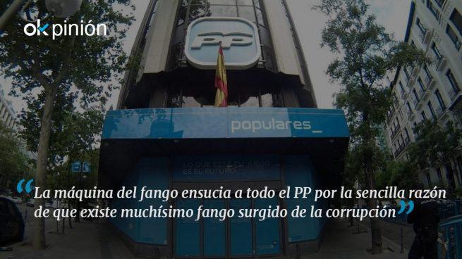 El PP es la imagen de la corrupción en España