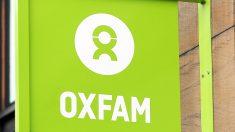 Logo de la ONG Oxfam en una de sus sedes. (Foto: AFP)