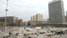 Plaza de los 'Països Catalans' situada en Barcelona