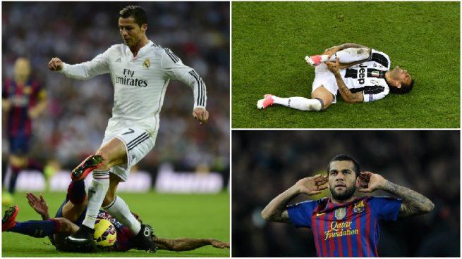 Todas las provocaciones de Dani Alves al Madrid