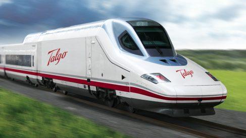 Ferrocarril Talgo (Foto: talgo.com).