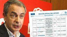 El ex presidente del Gobierno, José Luis Rodríguez Zapatero, concedió 260.000 euros en subvenciones a Oxfam Gran Bretaña en 2010