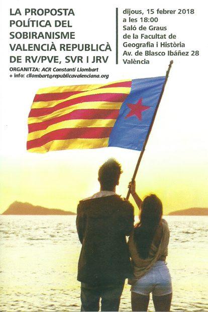 La Universidad de Valencia acoge un aquelarre separatista en favor de la 'república valenciana'