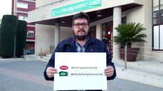Alexandre Ruiz, alcalde de Compromís en la localidad de Bellreguard (Valencia)