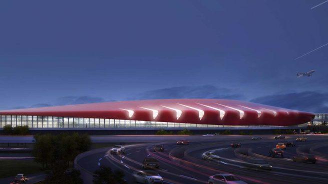 Luis vidal + arquitectos y AECOM diseñarán la ampliación de la Terminal E del Aeropuerto Internacional de Boston