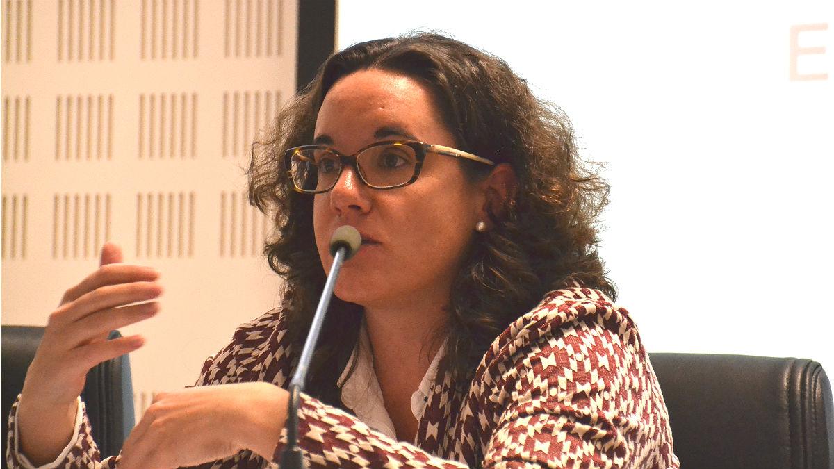 Carmen Ladrón de Guevara, abogada de la AVT.