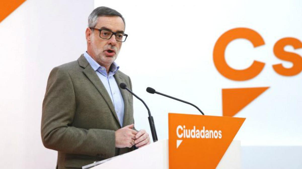 El secretario general de Ciudadanos, José Manuel Villegas. (EFE)