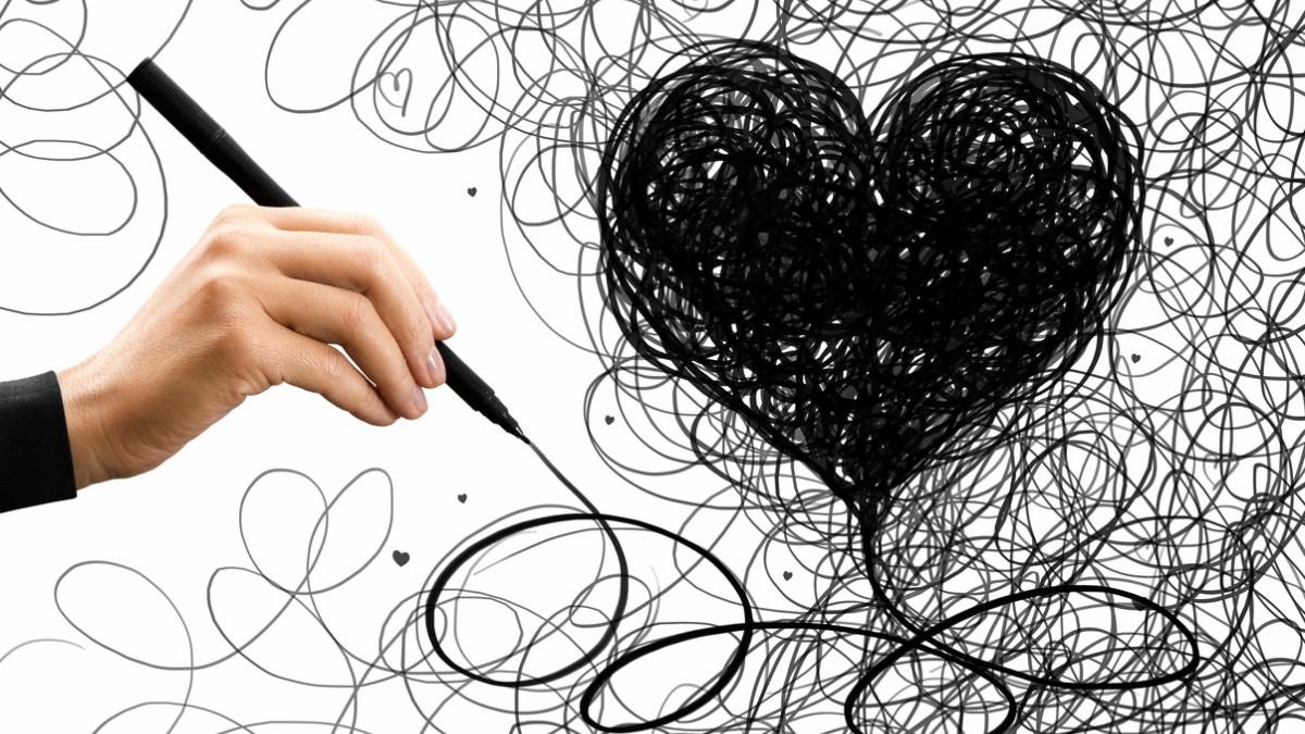 Aprende a dibujar el corazón perfecto