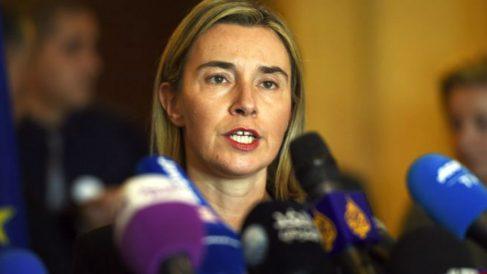 La Alta Representante de Política Exterior de la UE, Federica Mogherini. (AFP)