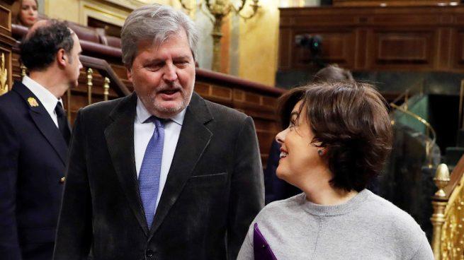 Iñigo Méndez de Vigo y Soraya Sáenz de Santamaría