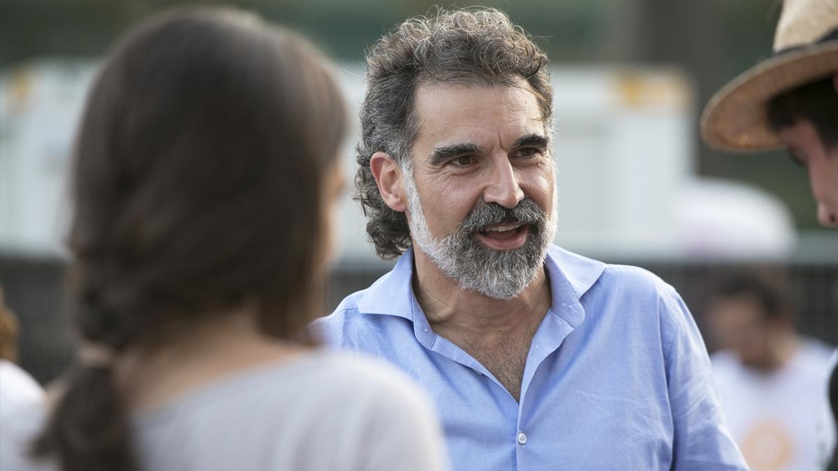 Jordi Cuixart, presidente de Òmnium Cultural. (Foto: Òmnium Cultural)