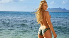 Lindsay Vonn posa para Sports Illustrated. (Sports Illustrated)