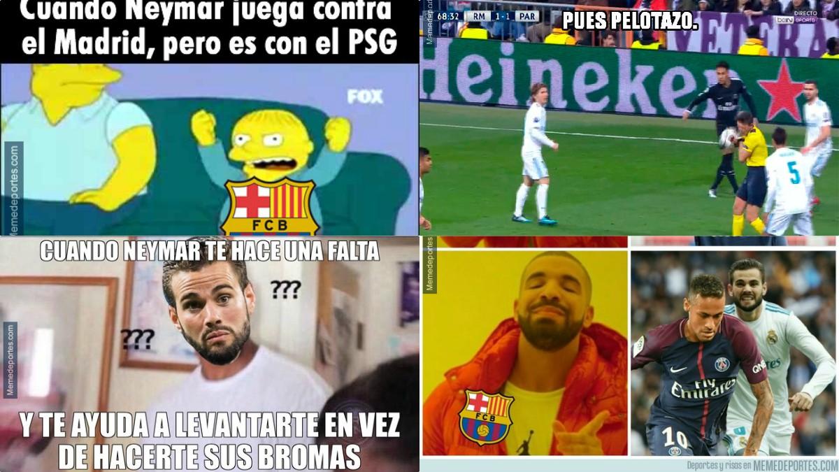 Los memes del Real Madrid – PSG.