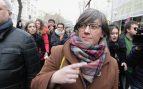 Mireia Boya a su entrada al Tribunal Supremo. (Foto: Francisco Toledo)