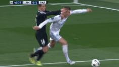 Penalti de Lo Celso sobre Toni Kroos.