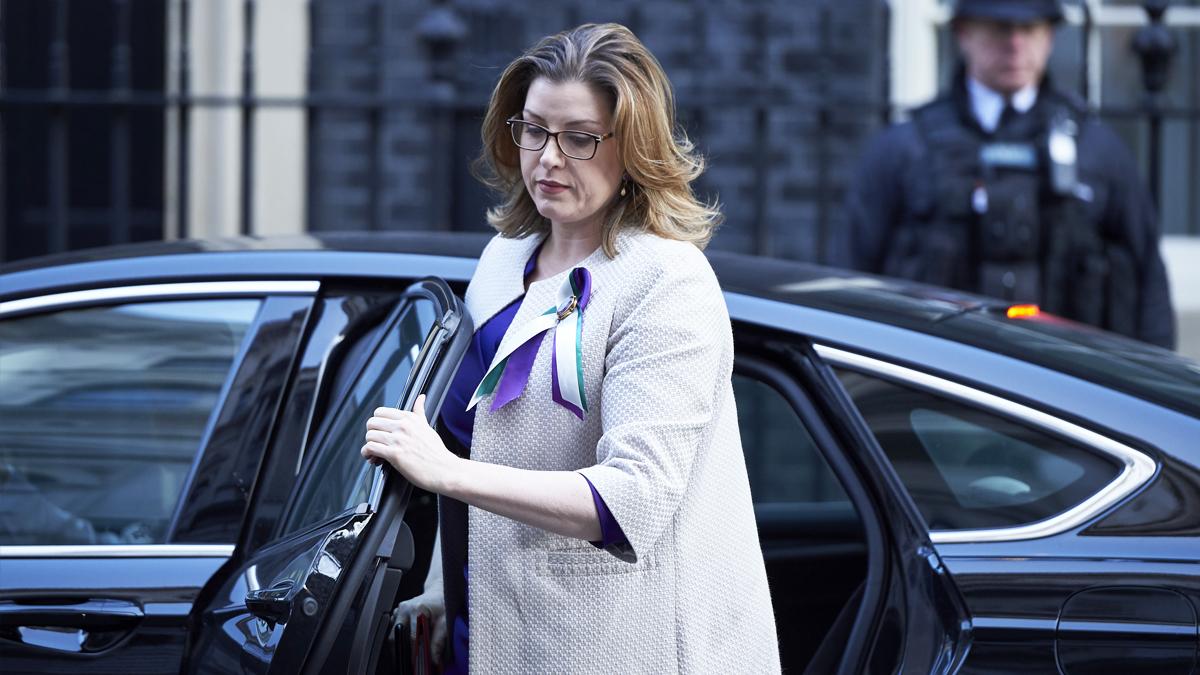Penny Mordaunt, ministra de Desarrollo de Reino Unido. (Foto: AFP)