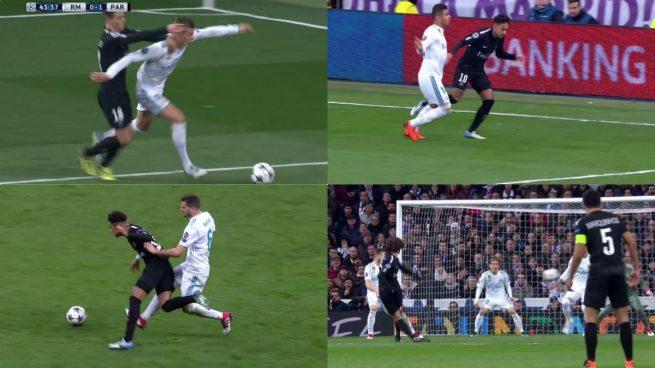 Todas las polémicas: Rocchi acertó en el penalti a Kroos y perdonó la expulsión a Neymar y Lo Celso