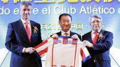 El Atlético de Madrid se queda sin participación china.