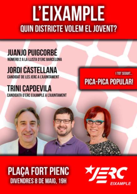 Cartel Juventudes ERC