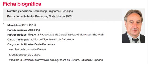 Ficha oficial en la Diputación