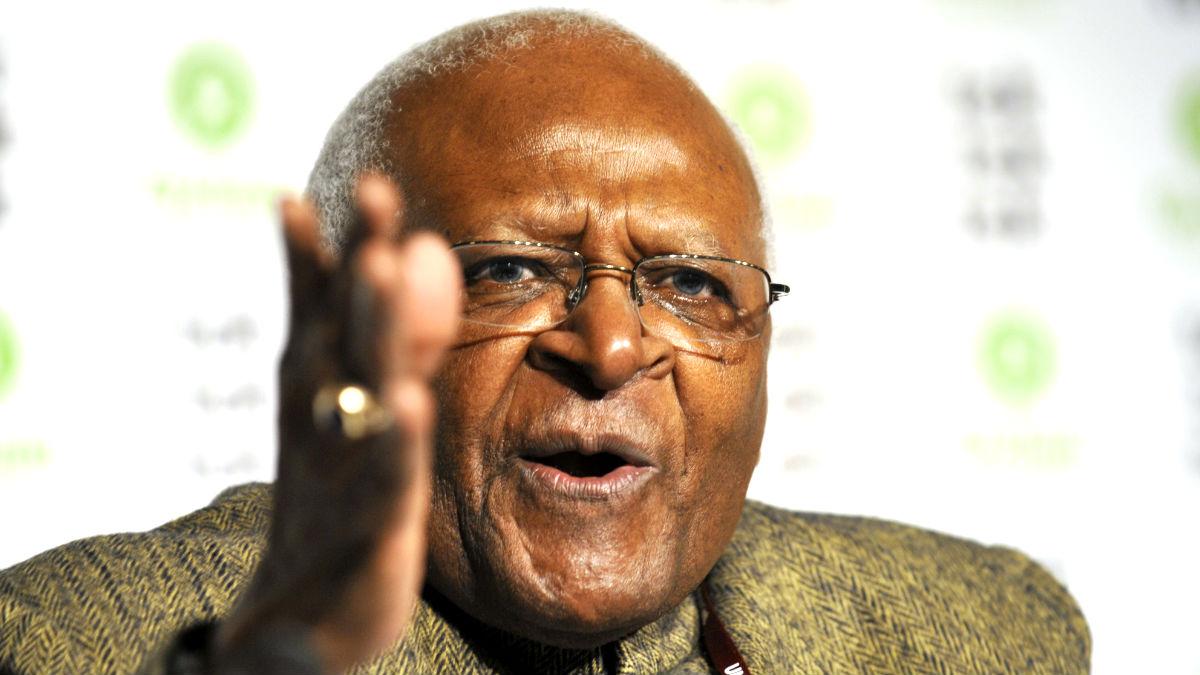 Desmond Tutu en una imagen de 2009 (Foto: AFP).