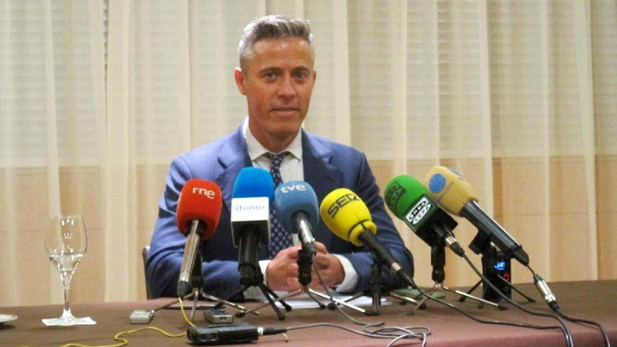 Joaquín Solanas, ex dirigente del PP de Cantabria y ahora afiliado a Ciudadanos.